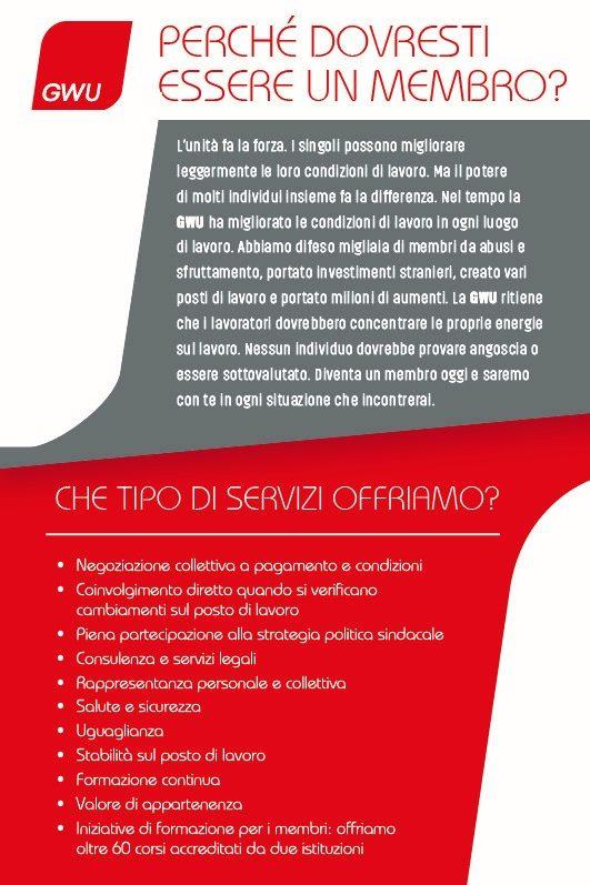 Benefits Italian